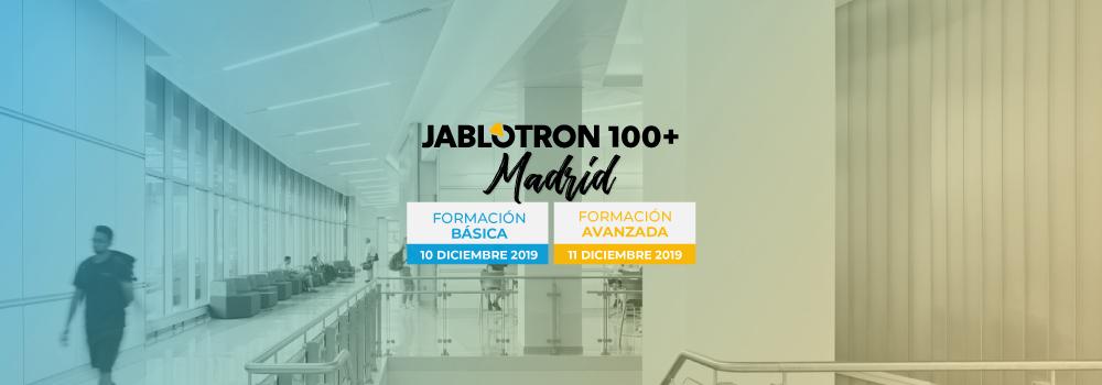 Formación JABLOTRON 100+ Madrid | Dec.2020