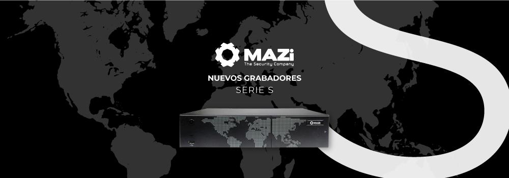 MAZI | NUEVOS GRABADORES IP DE LA SERIE S